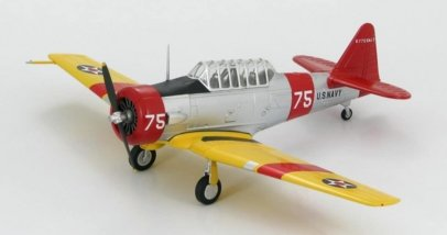 Hobby Master HA1511 - 1/72 scale North American Aviation SNJ-3 Texan (T-6A) diecast model aircraft, NAS Pensacola, Florida, 1942. www.armchairaviator.com.au