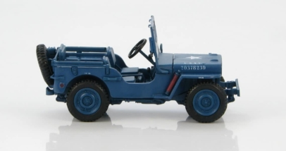 Hobby Master HG1608 diecast model - 1/72 Scale 1/48 Scale Willys MB Jeep of the USAAF, Air Police. www.armchairaviator.com.au