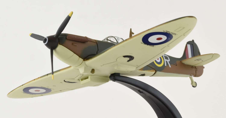 Oxford Diecast Ac052 1 72 Scale Spitfire Mk 1 616 Sqn Raf