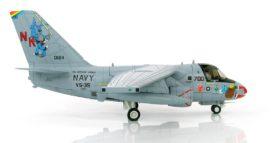 "Starboard View Hobby Master HA4904 - 1/72 Scale Lockheed S-3B Viking Diecast Model aircraft of ""Santa Tracker"", VS-35 ""Blue Wolves"" NK 700, USN, USS Abraham Lincoln (CVN-72), 2002."