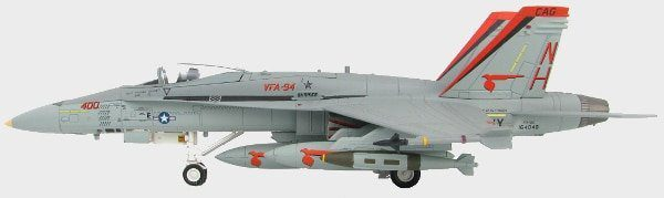 Port View ThumbHobby Master HA3529 – 1/72 Scale F/A-18C Hornet Diecast Model Aircraft.