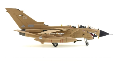 "Starboard View Corgi AA39806 - 1/72 Scale Panavia Tornado GR1 Diecast Model Aircraft of ZA447/EA, ""MiG Eater"", XV Sqn, RAF, Operation Granby 1991."